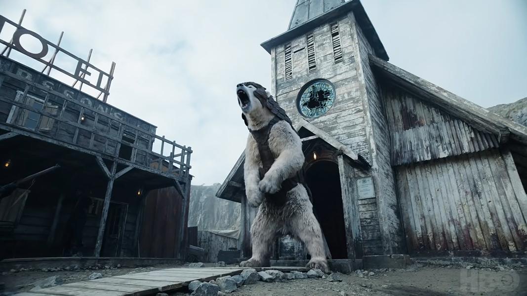 Iorek Byrnison a harcos jegesmedve Az Úr sötét anyagaiból